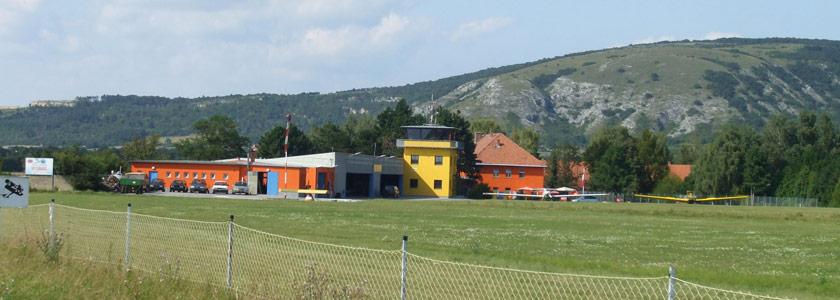 Flugplatz Spitzerberg bei Hainburg