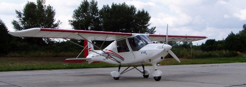 Ultraleicht-Flugzeug