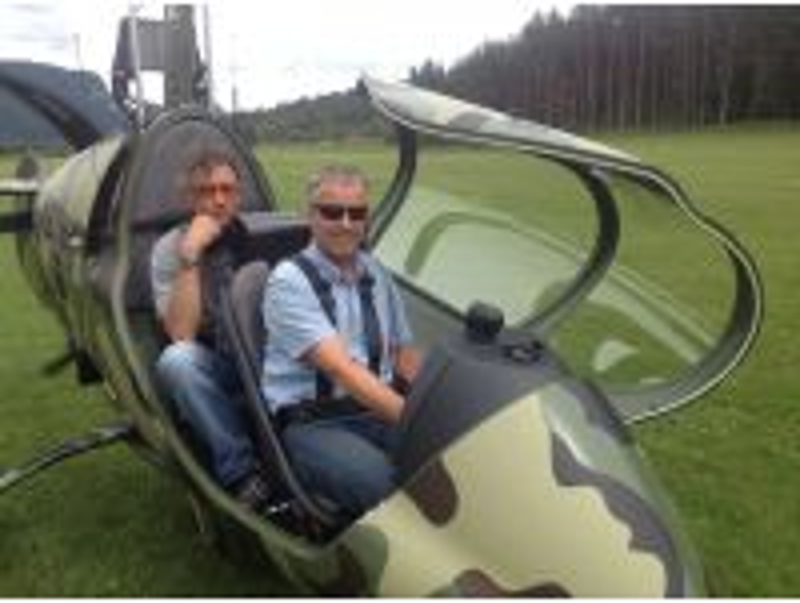 Selbersteuern mit dem Gyrokopter für 1 Person 30 Min.