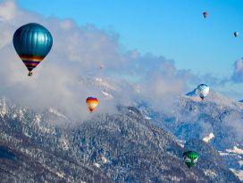 Ballonfahrt St. Johann - Kaiserfahrt mit Einkehr für 2 Personen exklusiv